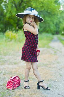 Free Fashion Girl Royalty Free Stock Photography - 29871487