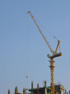 Free Crane On Working Stock Photography - 29872352