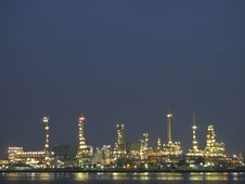 Free Light Of Refinery Stock Photo - 29873870