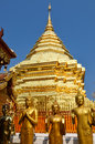 Free Golden Temple Wat Phra That In Doi Suthep, Chiang Mai, Thailand Stock Photo - 29881970