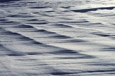 Free Textural Background In The Form Of A Snow Field Royalty Free Stock Images - 29881279