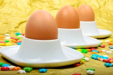 Free Easter Eggs Royalty Free Stock Photography - 29888197