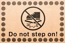 Free Warning Symbol Royalty Free Stock Photography - 29889197