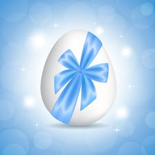 Free Blue Card For Easter Stock Photos - 29889493