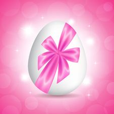 Free Pink Card For Easter Royalty Free Stock Photography - 29889517