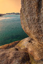 Free Brittany- Rocks Detail At Sunset Stock Photography - 29890272