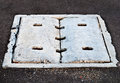 Free Cement Cover Of Drain Stock Image - 29898221