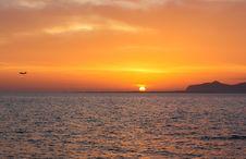 Free Sunset Sea Island Stock Photography - 29894142