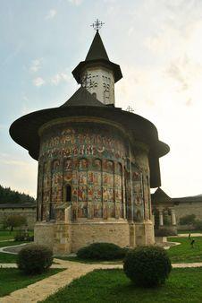Free Sucevita Monastery Stock Image - 29894651