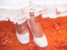 Free Bride´s Boots Royalty Free Stock Images - 29895029