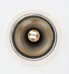Free Closeup Of Pot Light Royalty Free Stock Photography - 29895547