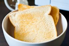 Free Toast In Cup Stock Photography - 29895642