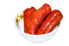 Free Red Chill Pickle Royalty Free Stock Photo - 29896895