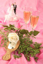 Free Wedding Cake Dolls, Rose Royalty Free Stock Photos - 2990218