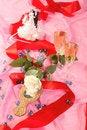 Free Wedding Cake Dolls, Rose Stock Image - 2990341