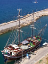 Free Girne(Kyrenia)Marina Entrance Stock Photography - 2991492