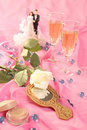 Free Wedding Cake Dolls, Rose Royalty Free Stock Images - 2999549