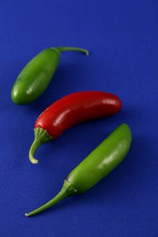 Free 3 Little Peppers Stock Photos - 2990953