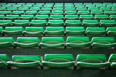 Free Green Seats Royalty Free Stock Photography - 2991067
