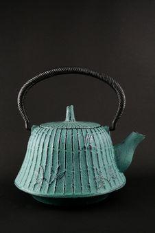 Free Green Teapot Stock Photo - 2991120