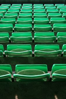 Free Stadium Seats Royalty Free Stock Image - 2991226