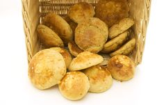 Free Bread In Basket Royalty Free Stock Photos - 2991388