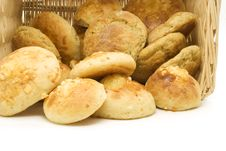 Free Bread In A Basket Royalty Free Stock Photos - 2991448