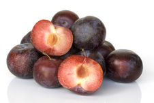 Free Plums, Summer Fruits, Royalty Free Stock Photography - 2992347