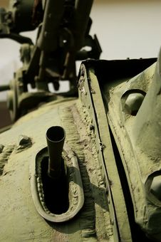Free T-54 Tank Mantlet Royalty Free Stock Photography - 2992927