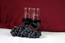 Free Wine And Grapes Royalty Free Stock Photos - 2993618