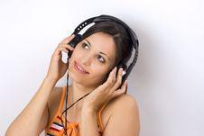 Free Girl Listening Music Stock Photos - 2993753