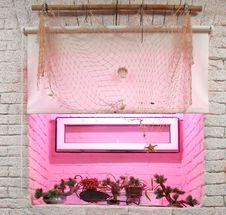 Free Window With Decorative Trees Stock Image - 2994251