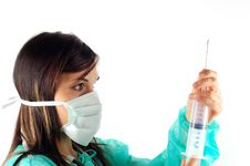 Free Female Doctor 5 Royalty Free Stock Photos - 2994658
