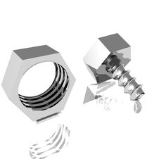 Free Nuts And Bolts I Royalty Free Stock Image - 2995136