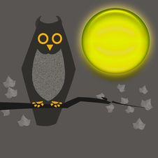 Free Halloween Owl Royalty Free Stock Photo - 2995965