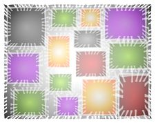 Free Abstract Artsy Tile Background Stock Photography - 2996112