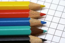 Free Colored Crayon Royalty Free Stock Photo - 2996235