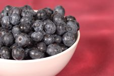 Free Blueberries In A Bowl Royalty Free Stock Photos - 2996408