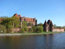 Free Malbork Castle Royalty Free Stock Photos - 2996668