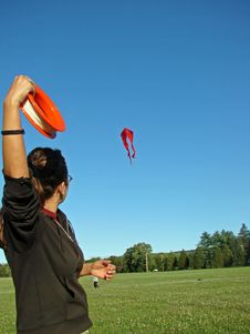 Free Kite Flying Stock Images - 2996894