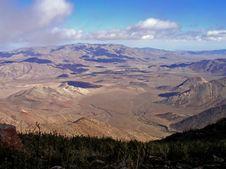Free View Onto The Desert Stock Image - 2997921