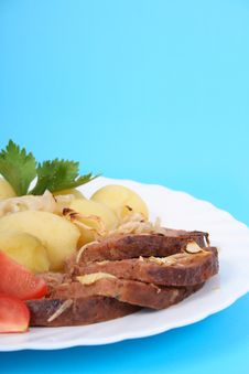 Free Meat And Potatoes Stock Photos - 2998733