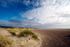 Free Sand Dunes And Ocean Royalty Free Stock Images - 2998979