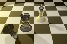 Free Chess Figures Royalty Free Stock Photography - 2999857