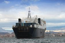 Free General Cargo Ship Royalty Free Stock Image - 29901306