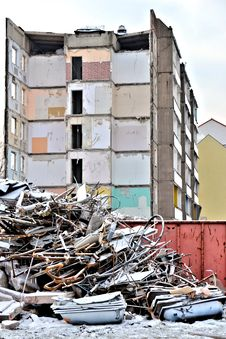 Free Demolition Of A House Stock Photos - 29901503
