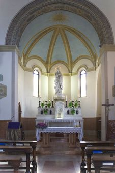 Free Interior Of A Chapel Stock Image - 29903031