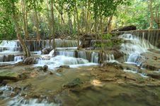 Free Beautiful Muti Layer Waterfall Royalty Free Stock Photo - 29905775