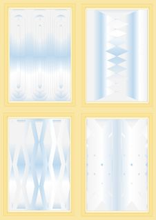 Free Types Of Corrugated Glass. Royalty Free Stock Photo - 29906145