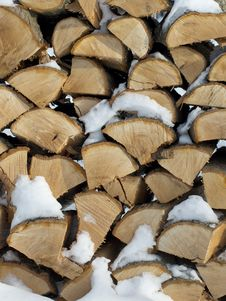 Free Oak Firewood Stock Photo - 29906490
